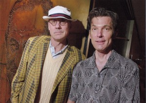 James Ellroy, demon dog of American Lit, and  Jesse Sublett, blues cat chronicler of life as pulp fiction