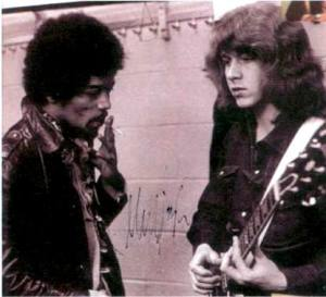 Jimi Hendrix & Mick Taylor, two of the greatest