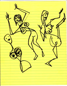more dancing naked women not finished one a torso & head